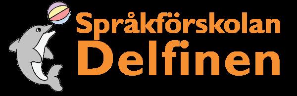 Språkförskolan Delfinens logo